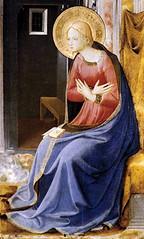 Beato Angélico (+1455), Anunciación a la Virgen María