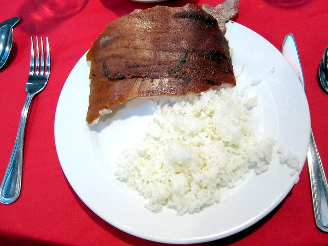 Lechon and rice