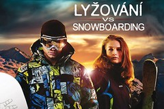 Lyžovaní versus snowboarding