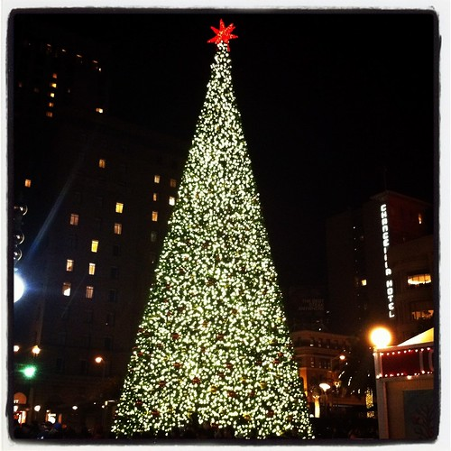 San Francisco Union Square Christmas Tree