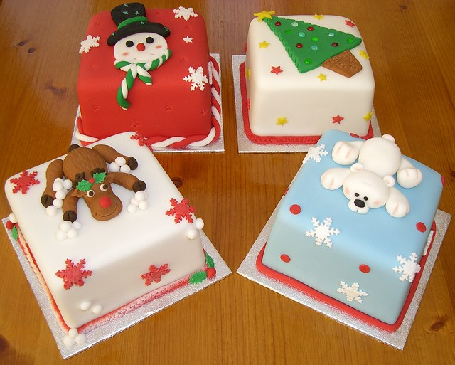 Miniature Christmas Cakes Flickr - Photo Sharing!