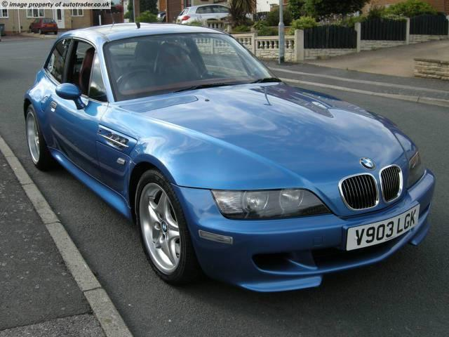 1999 M Coupe | Estoril Blue | Imola/Black