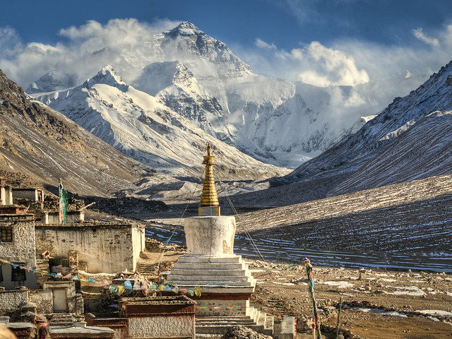 Tibet Mount Everest