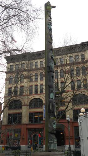 Pioneer Square Totem Pole