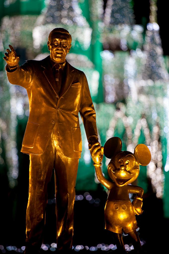 Merry Christmas Walt and Mickey