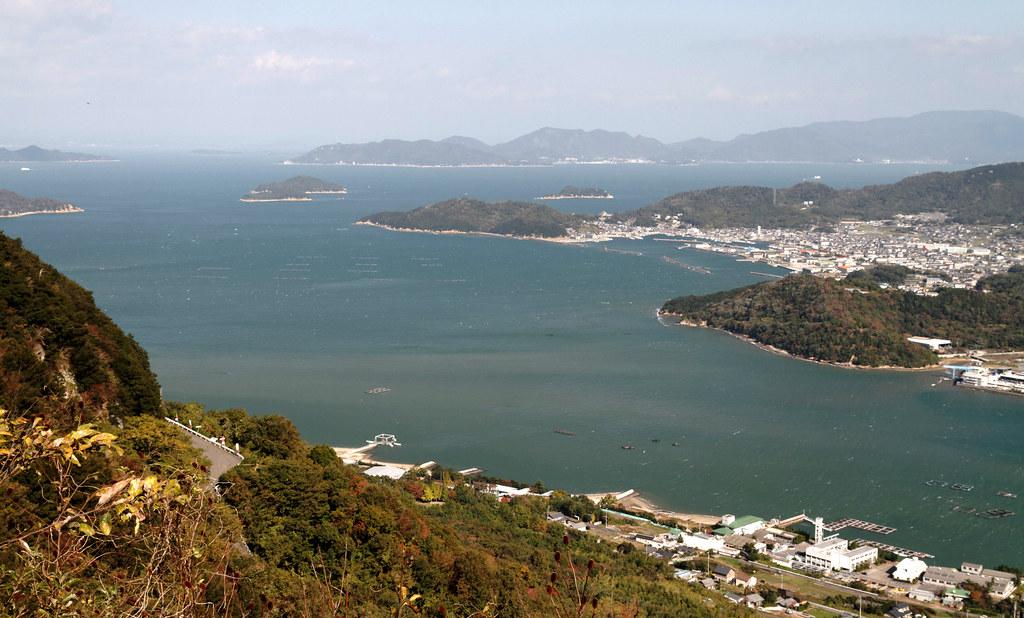 NE view from Yashima