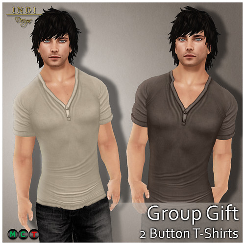 Button T-Shirts (Group Gift)