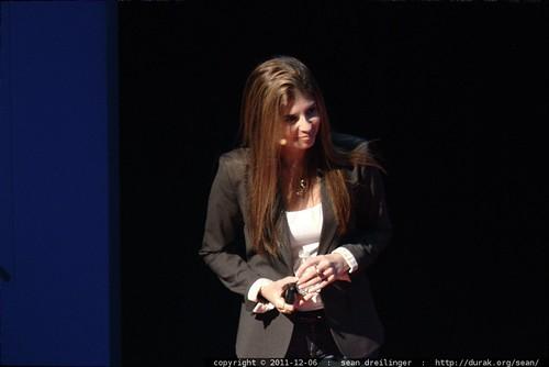 Fernanda Gandara, Senior Vice President of Business Development at Synthetic Genomics, Inc addresses TEDxSanDiego    MG 3908 MG 3917