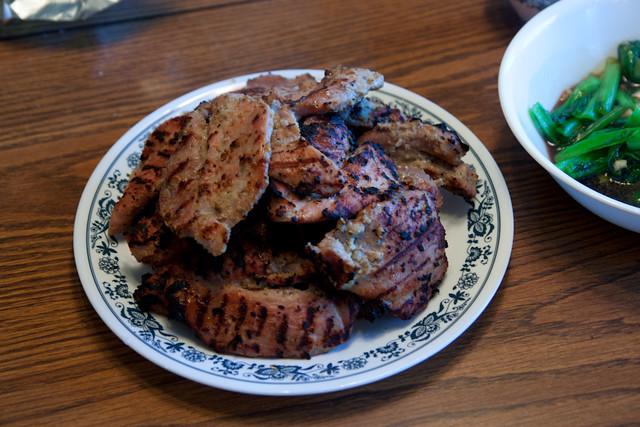 ... Tomato - In Depth: Thit Heo Nuong Xa (Viet Grilled Lemongrass Pork