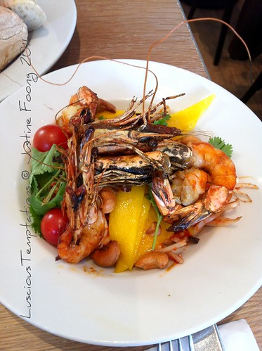 Prawn and Mango Salad - Villandry, Bicester Village