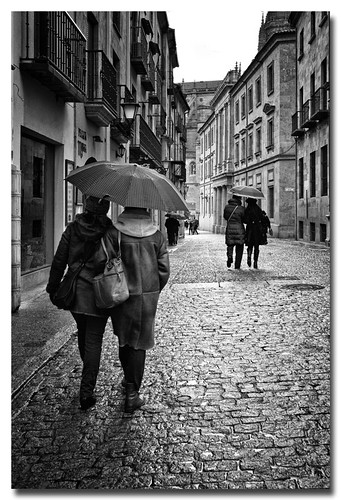 Día de lluvia by Andrés Ñíguez