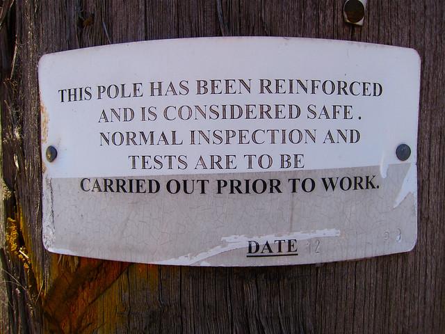 Safety Pole, Melbourne
