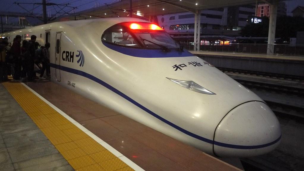 China Railways CRH2 Train