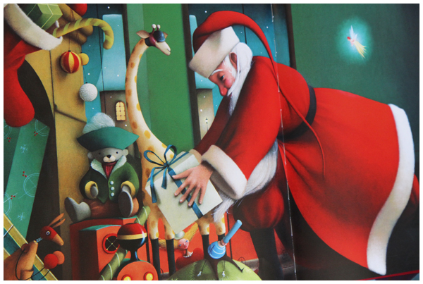 The Night Before Christmas book illustrated by Eric Puybaret