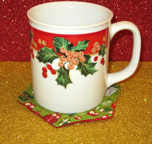 coaster and mug