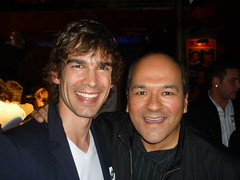 Christopher Gorham and Greg Hernandez