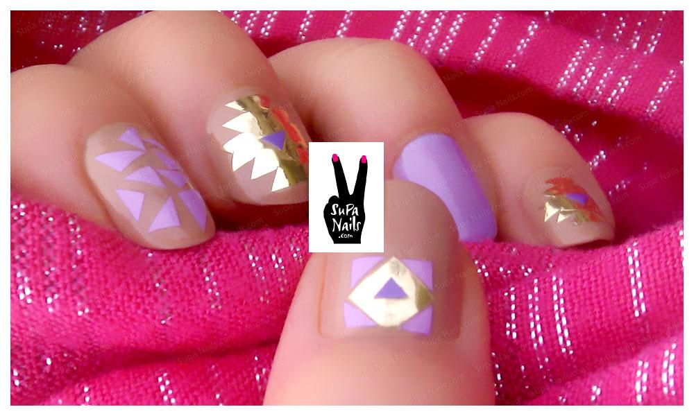supa nails colorful gold - photo #4