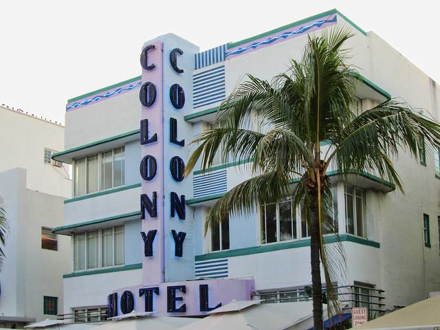 Colony Hotel Ocean Drive Miami Beach Fl United States