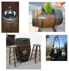 barriles usos