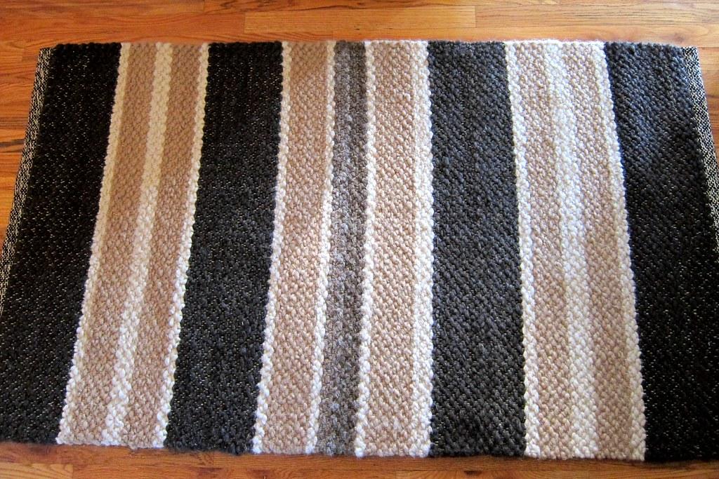 Last stripe rug