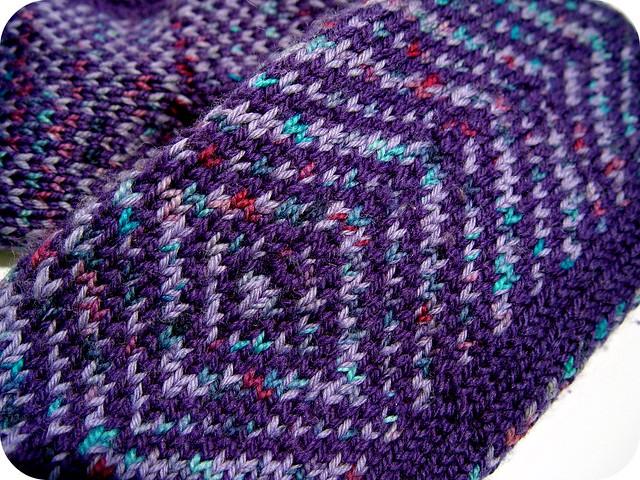 warm woolen mittens