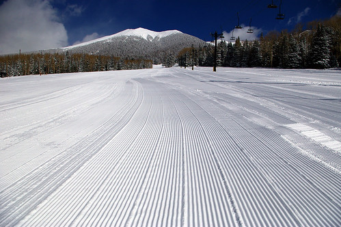 Arizona Snowbowl - Courduroy Snow