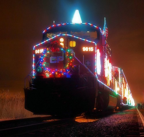 The CP Holiday Train (by: Eric Begin, creative commons license)