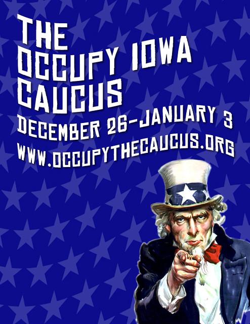 occupy des moines to preempt january 3rd iowa caucus htt flickr photo sharing