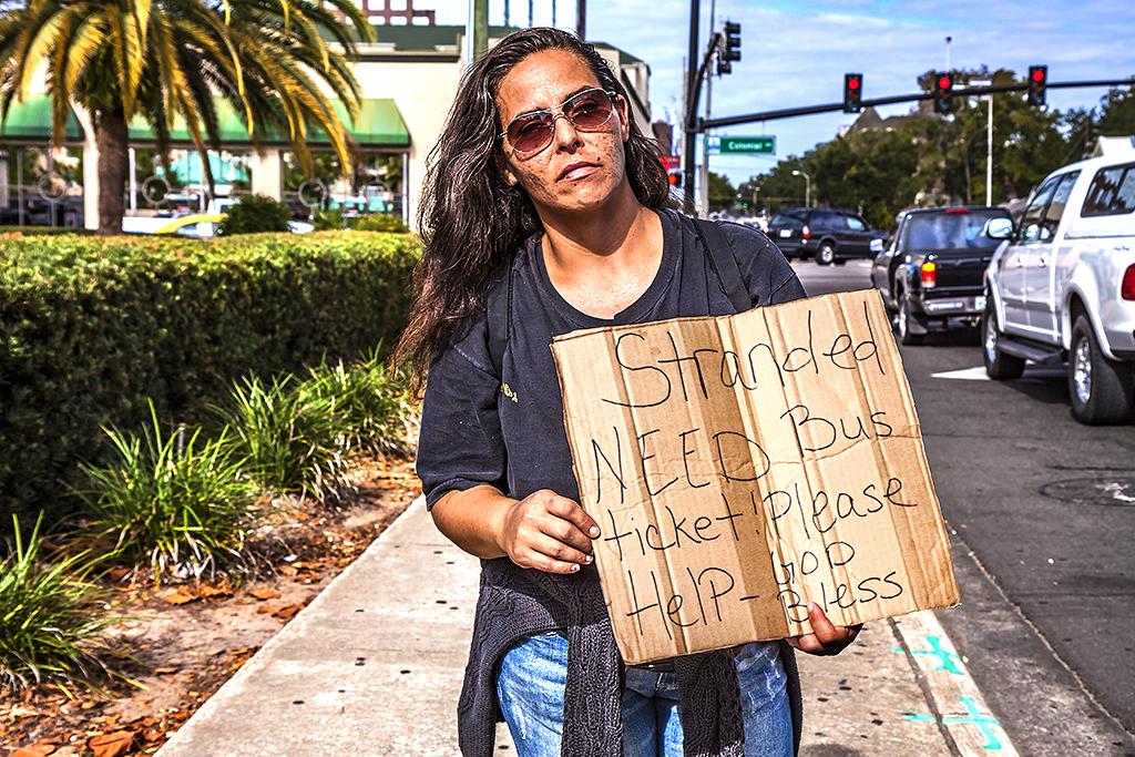 Stranded-woman--Orlando