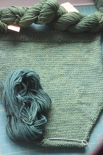 same yarn, different dye lot.