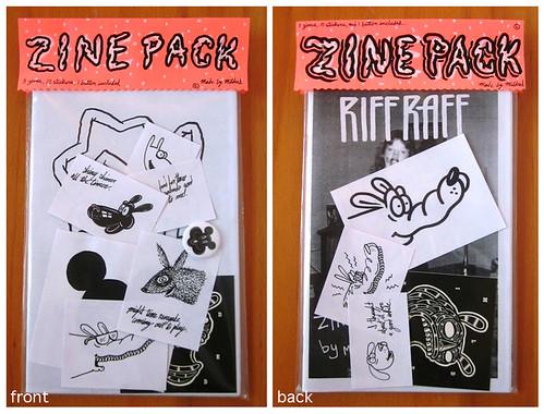 3 zine pack