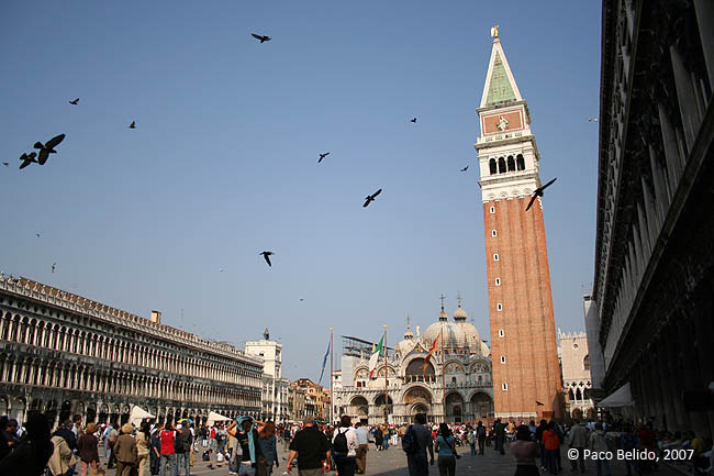 Piazza San Marco. © Paco Bellido, 2007