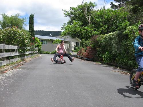 Photo of Hana Free-wheeling it