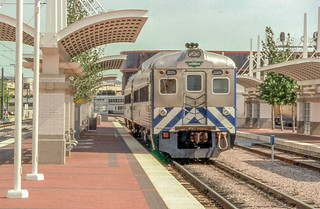 19980508 05 Trinity Railway Express @ Dallas Union Station