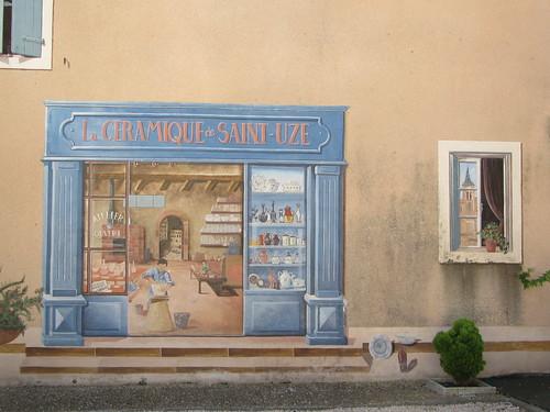 Saint-Uze (place de l'église)
