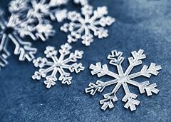 [フリー画像素材] バックグラウンド, 雪の結晶 ID:201112242200