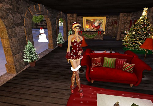 Alchemy - Xmas Outfit Group Gift+Michelle Skin Red Lips by Cherokeeh Asteria