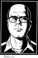 Charles Burns self-portrait