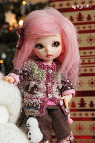 Pink girl for Christmas!