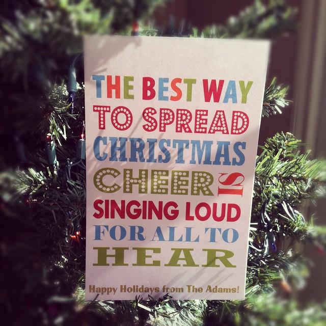 Christmas Card 2011
