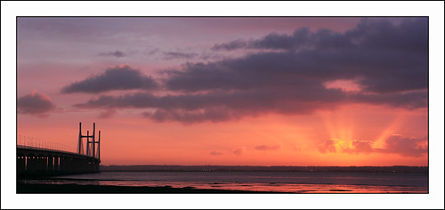 Second Severn Crossing at Dawn (1)