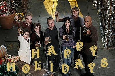 NCIS: Los Angeles Christmas greeting