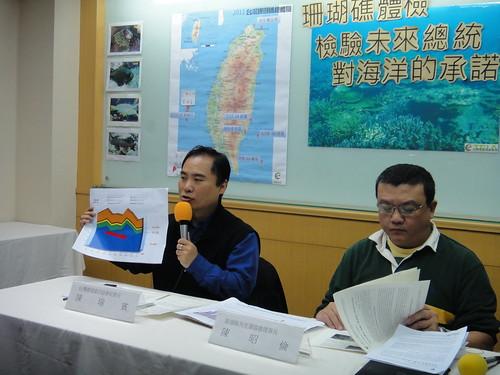 環境資訊協會秘書長陳瑞賓對三黨候選人提出呼籲