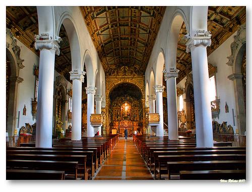 Interior da Igreja Matriz de Matosinhos by VRfoto
