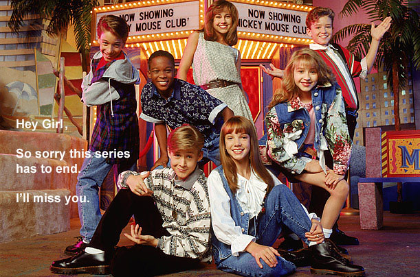 Mickey Mouse Club Picture (early '90s)
