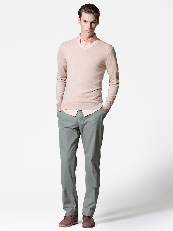 UNIQLO EARLY SPRING STYLE FOR MEN 2012_009Tim Meiresone