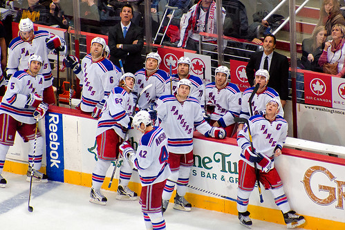 Tortorella and Rangers Bench Watch a Distinct Kicking Motion