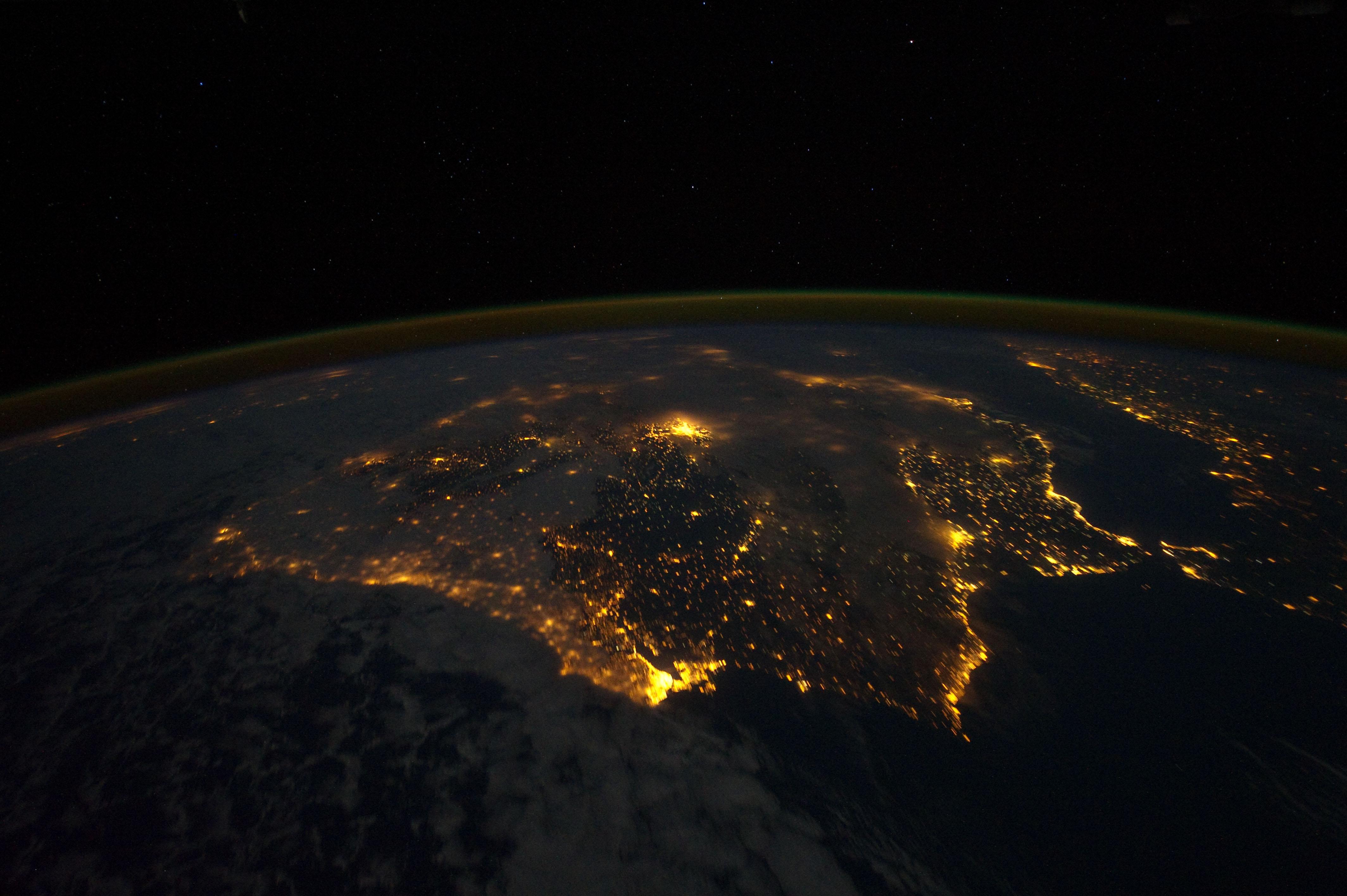 nasa earth night lights hawaii - photo #31