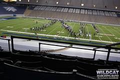 Rehearsing at Rice University