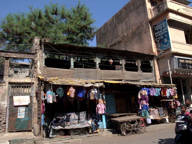 Muslim street. Aurangabad, Dec 2011. GR045